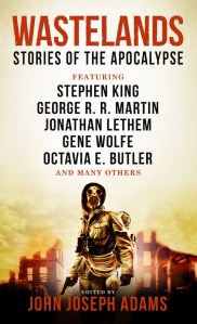 Wastelands: Stories Of The Apocalypse edited by John Joseph Adams is quite the anthology. It provides a decent sampling of genre sci-fi and fantasy writers. Click here for more information.