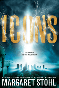 Icons by Margaret Stohl had appeal based on my enjoyment ofBeautiful Creatures.It has a science fiction vibe and did not live up to expectations.