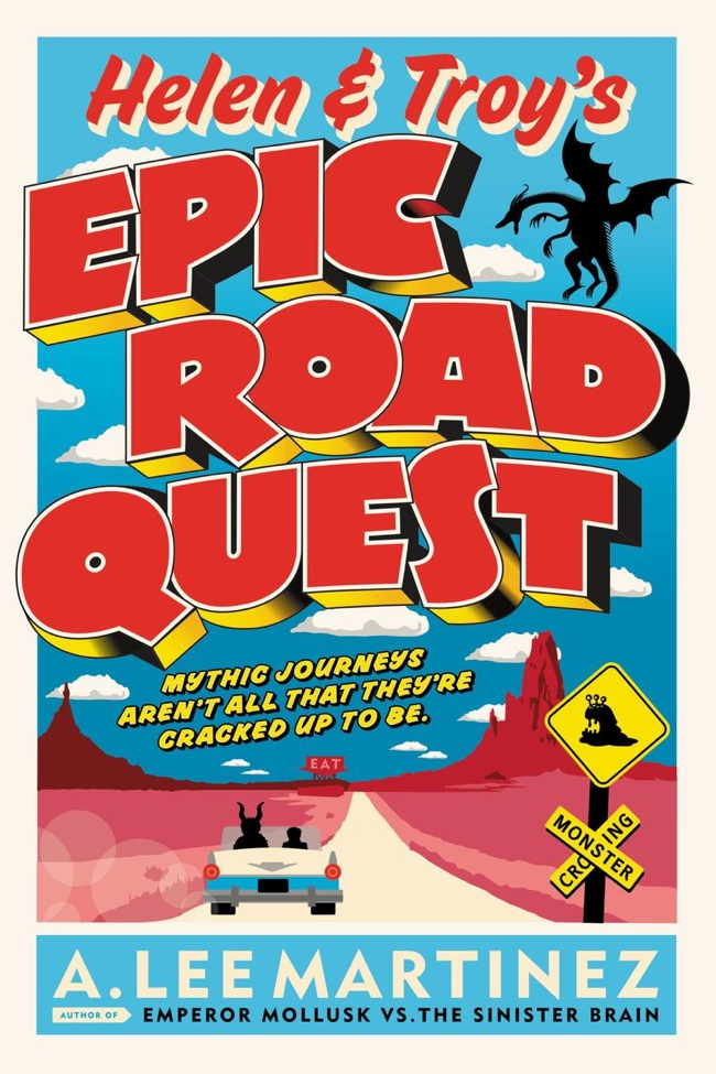 Helen and Troy's Epic Road Quest by A. Lee Martinez | Audiobook Review