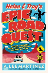 Helen And Troy's Epic Road Quest by A. Lee Martinez is about two young adults named Helen and Troy (get it, get it). It is very funny. Click here to find out why.