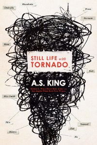 Still Life With Tornado by AS King was an incredible book. It is a really smart book that stretches what YA can be. Click for my review.