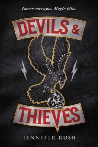 Devils & Thieves by Jennifer Rush sounded like such a cool book. Also? Rush seems to have a great writing reputation. Click here for my full review.