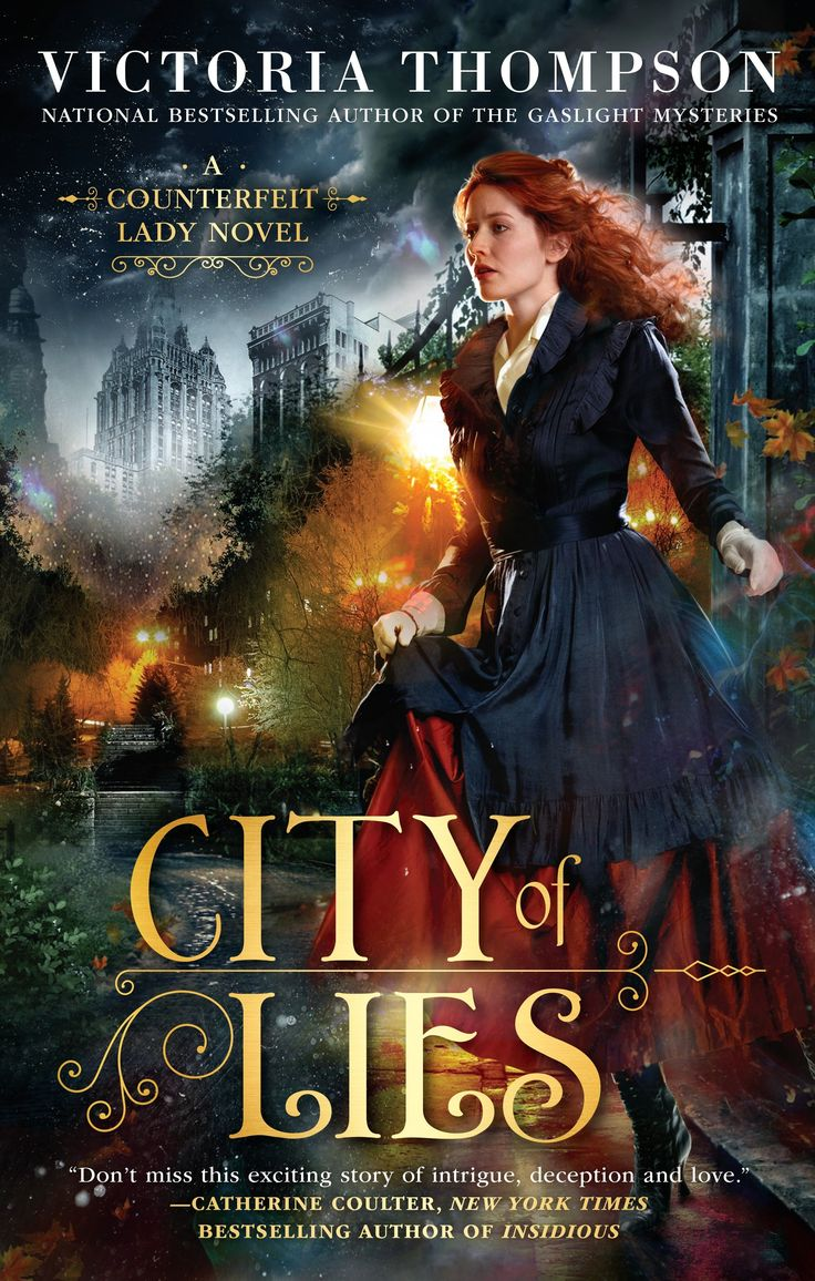 City Of Lies by Victoria Thompson | Audiobook Review