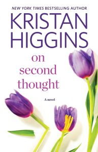 On Second Thought by Kristan Higgins is one of those books that I instantly wanted to read, but you know, I am terrible at reading things on time.