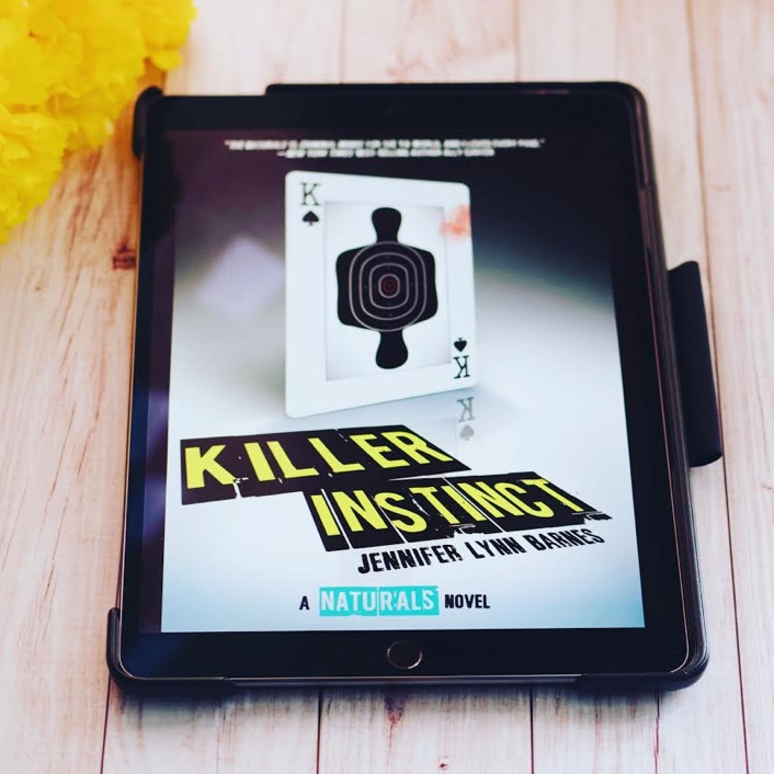 Killer Instinct is the second book in Jennifer Lynn Barnes's The Naturals series which basically follows a group of teens who are naturals at solving crimes