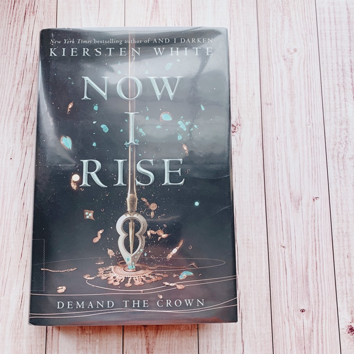 Now I Rise by Kiersten White is the second book in the And I Darken series. It follows Lada Dracul and her brother Radu through alternating chapters.