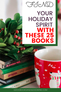 I find so much joy in getting up, grabbing a cup of coffee, and reading a few chapters from a book set during Christmas. Below are twenty five brand new holiday themed books from a variety of genres that I think will give you all those holly jolly feels.