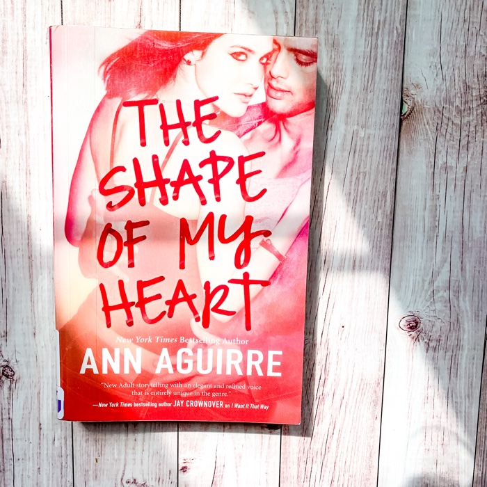 At this point, I think I just really need to read up the rest of the Ann Aguirre books on my shelf. I know that no matter what genre she's writing, I am going to enjoy reading.The Shape Of My Heart is a New Adult contemporary book that is the last of the 2B trilogy. However, you do not need to read the other books in the trilogy to appreciate your time with this.