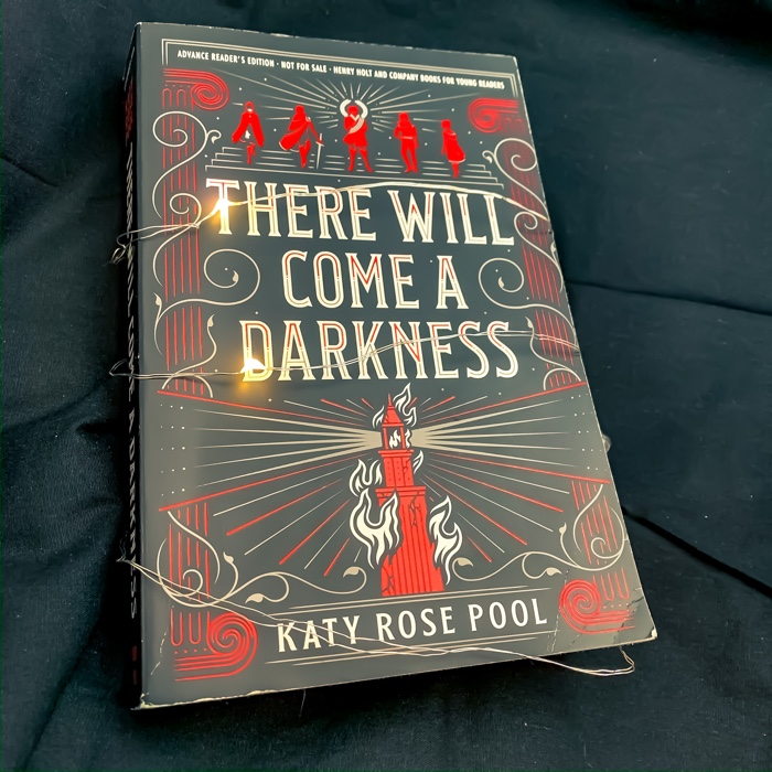 There Will Come A Darkness is Katy Rose Pool's debut and boy does it slap. It's a long book and quite the journey from beginning to end.