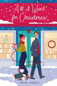 All I Want For Christmas by Wendy Loggia is a good book to add to your TBR for a quick burst of holiday spirit.