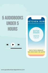 These 5 audiobooks under 5 hours long are not a huge time commitment. I think of it as being a taste of the wonderful world of audiobooks.