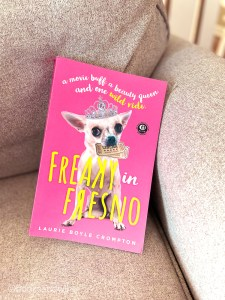 Freaky In Fresno by Laurie Boyle Crompton is a retelling of Freaky Friday featuring two cousins - Ricki and Lana.
