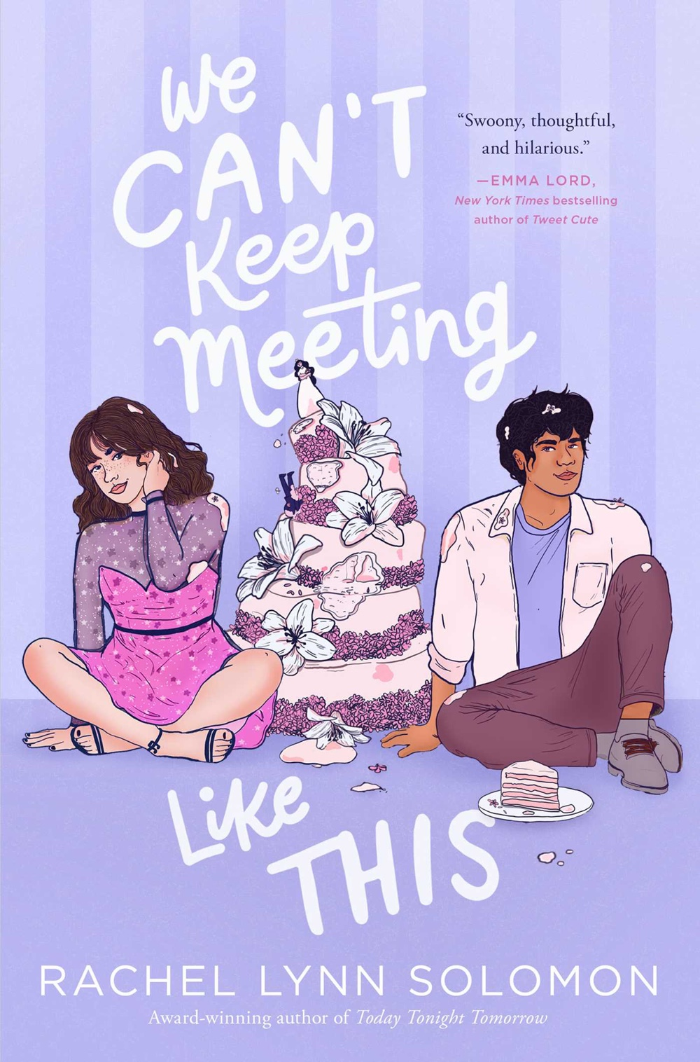 We Can't Keep Meeting Like This by Rachel Lynn Solomon | Book Review