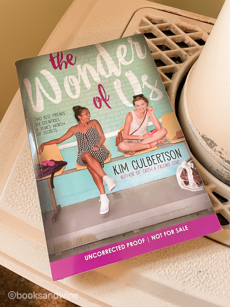 The Wonder Of Us by Kim Culbertson   Book Review