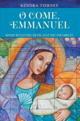 O Come Emmanuel book cover advent reflection  Jesse Tree