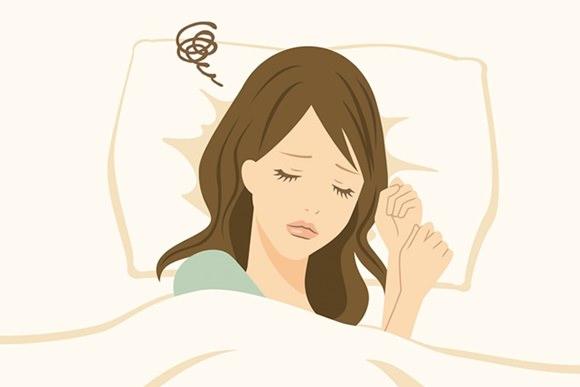 不眠で眠れない