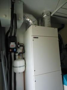 Système complet de ventilation : puits canadien + VMC double flux thermodynamique