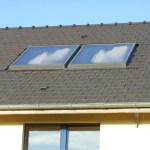 Panneaux solaire maison passive