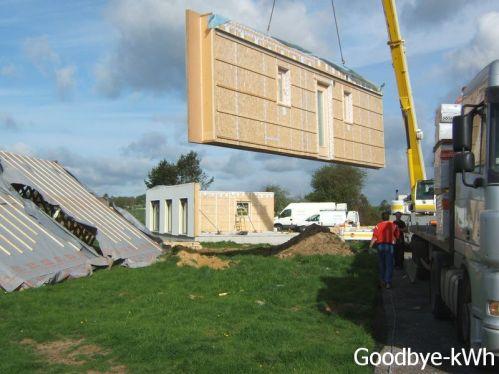 Construction maison passive à ossature bois