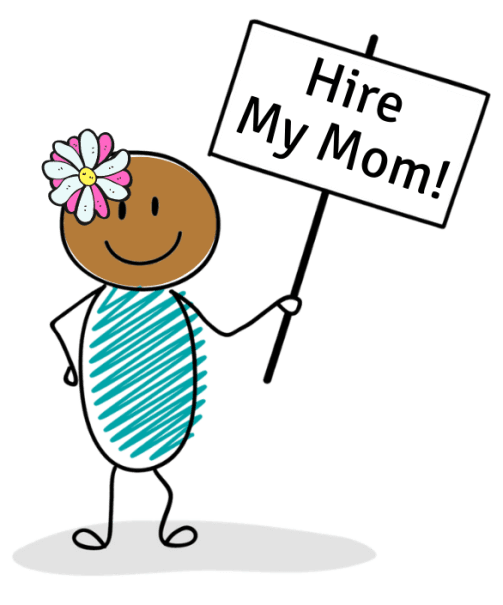 Hire My Mom Offers side jobs for stay at home moms