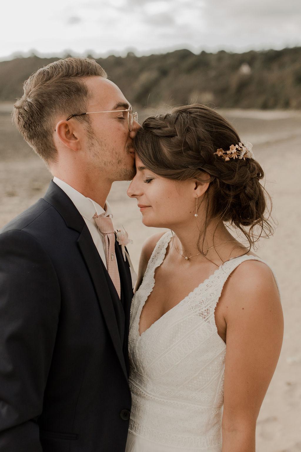Mariage dans le sable
