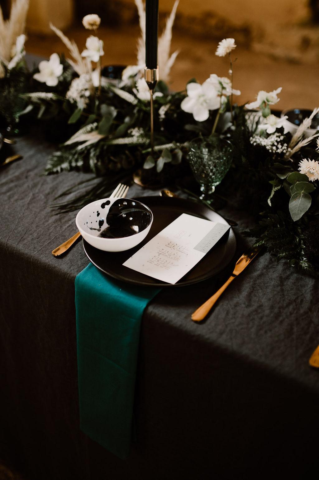 Mariage en vert