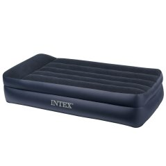 intex pillow rest raised airbed review