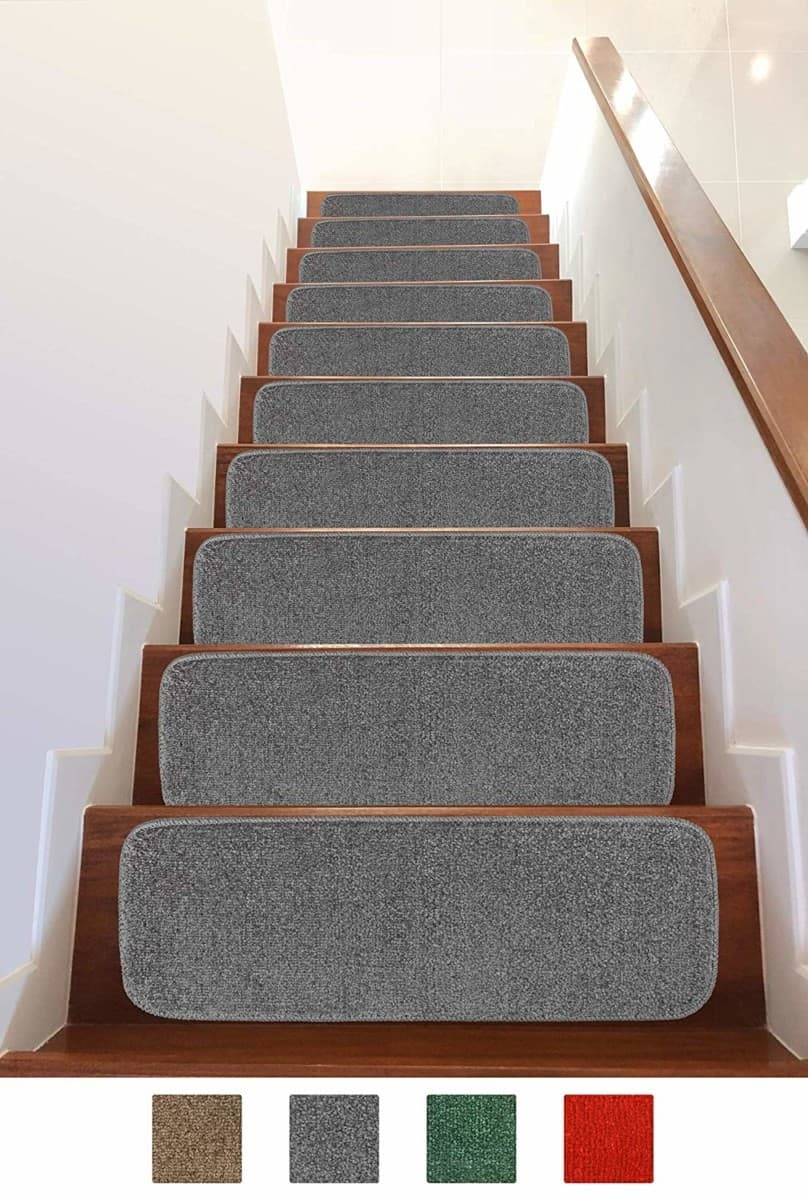 Add Different And Elegant Touch To Your House A Carpet Stair   Carpet Stair Treads Only   Wood   Hardwood   Stair Runner   Non Slip   Hardwood Floors