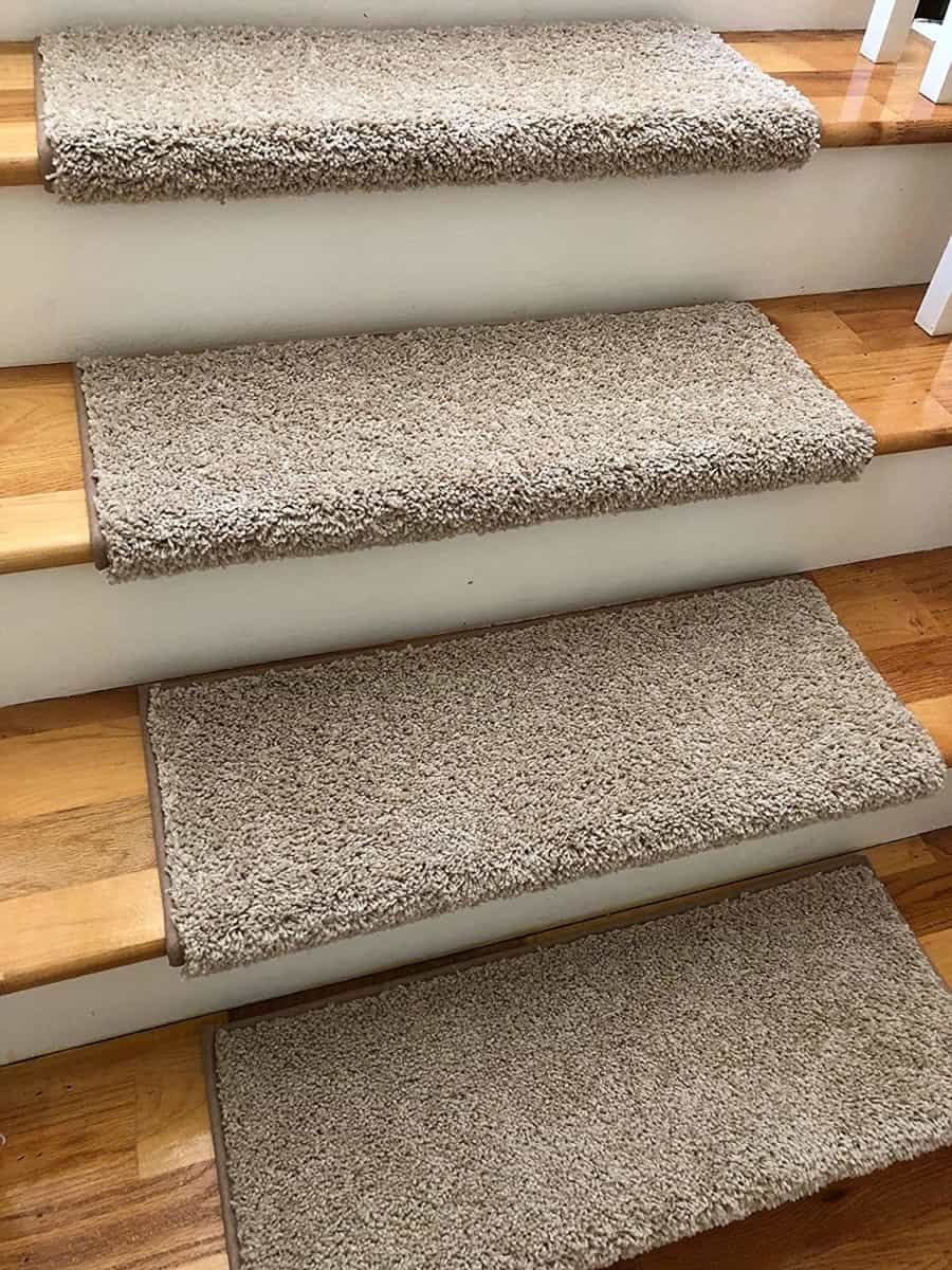 Add Different And Elegant Touch To Your House A Carpet Stair | Carpet Rugs For Stairs | Navy Blue | Beige | Tartan | Wool | Diamond Pattern