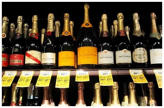 Wine sale at Safeway