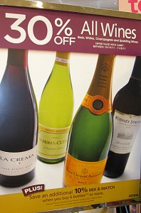 Safeway wine sale