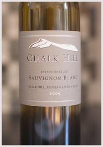 Chalk Hill 2009 Sauvignon Blanc at Costco for $18