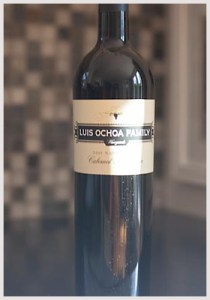 Luis Ochoa 2005 Cabernet Sauvignon $19 at Costco what a deal!