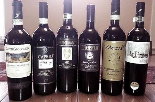 image of brunello wine