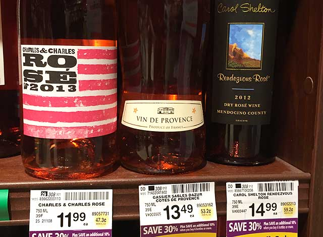 These Rosé wines are at my local Safeway. Their fantastic wines.