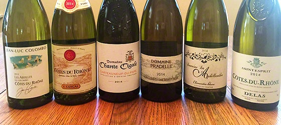 White Rhone wines