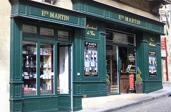 A great wine shop in St. Emilion