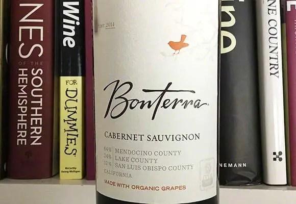 2014 Bonterra Cabernet Sauvignon - Organic Grapes