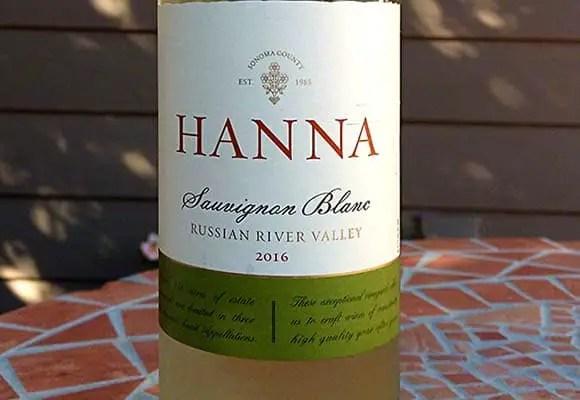 2016 Hanna Sauvignon Blanc Russian River Valley