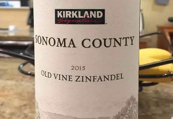 2015 Kirkland Zinfandel Old Vine