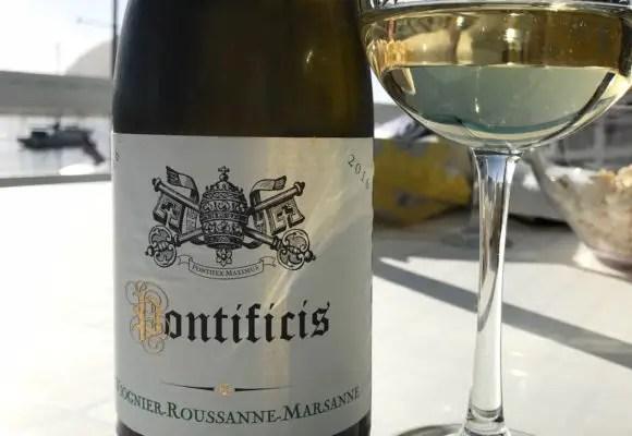 Pontificis white wine