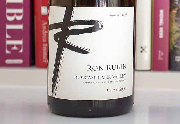 Ron Rubin Pinot Gris Russian River Valley