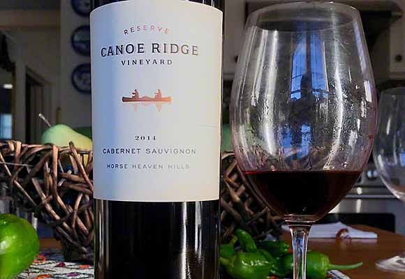 Canoe Ridge Vineyard Cabernet