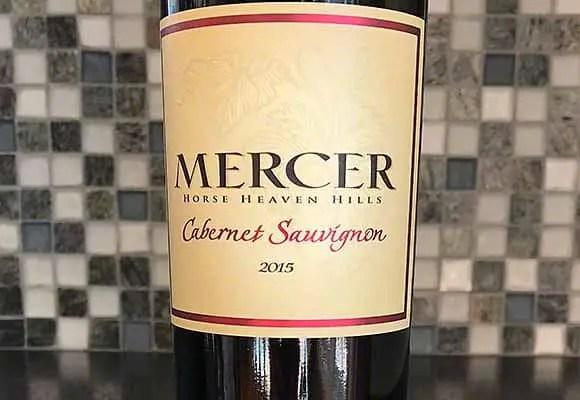 Mercer Estate Horse Heaven Hills Cabernet Sauvignon 2015