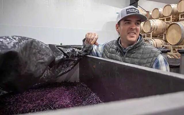 Jared Burns Revelry winery