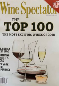 Wines under $20 on the Wine Spectator Top 100 Wines 2018