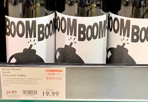 Boom Boom Syrah review