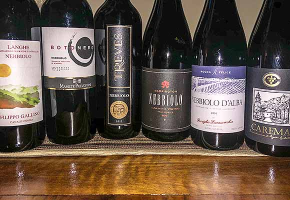 Nebbiolo wines we like