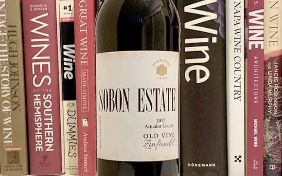 Sobon old vine zinfandel