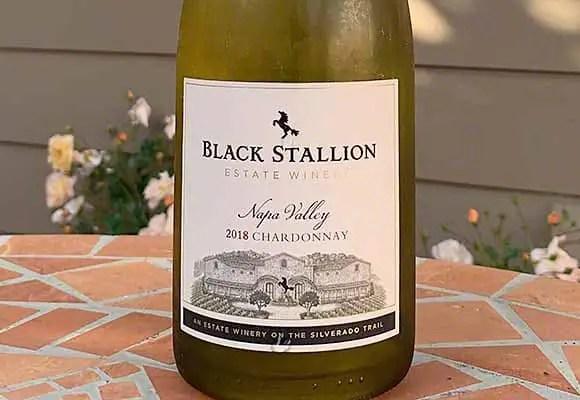 Black Stallion Napa Valley Chardonnay 2018